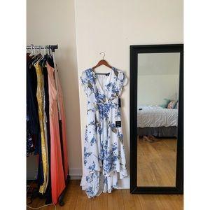 Lulu's Hi-Low Floral Dress